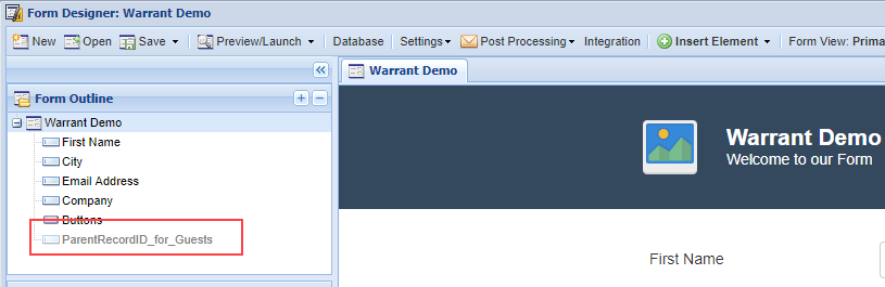 Working with SubForms – Logiforms Help Center